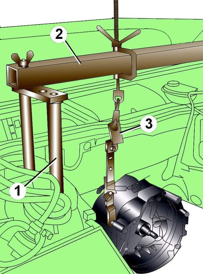 Приспособления для снятия кпп камаз